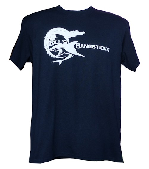 Bill's Bangsticks Logo T-Shirt - Navy/White Logo